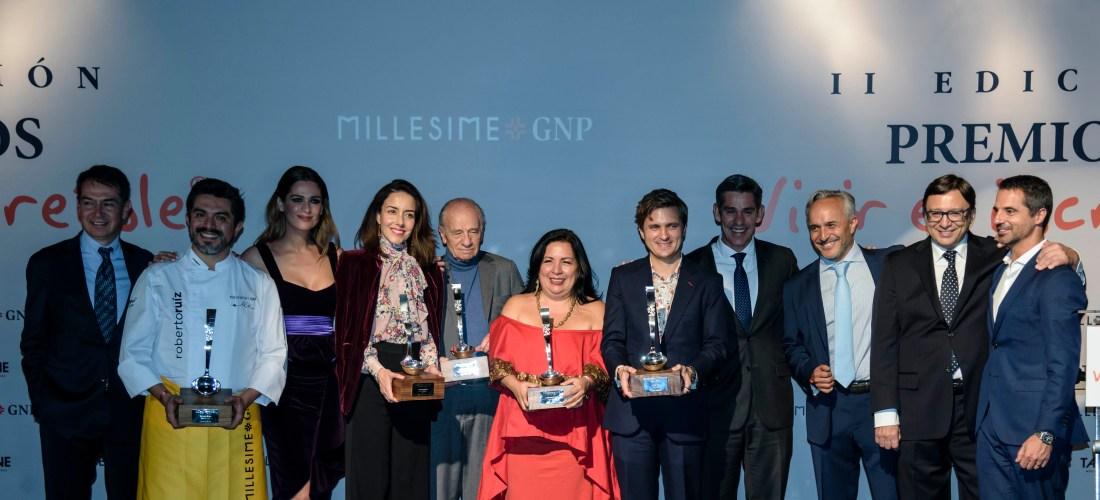 Millesime México 2018 arranco el día de ayer maravillosamente y de nuevo GNP entrego los premios Vivir es Increíble @MillesimeMexico