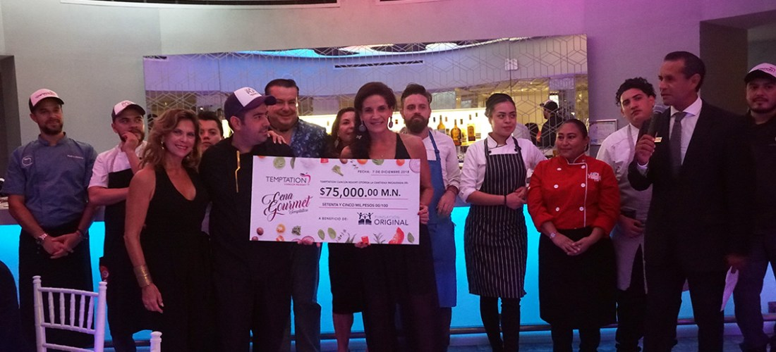 Cena Gourmet Temptation #XperienciasGastronomicas