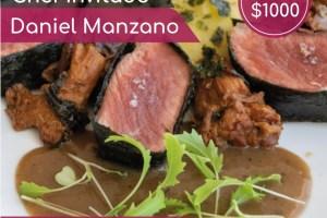#XperienciasGastronomicas Cena Sensorial 26 de Abril con el Chef Daniel Manzano