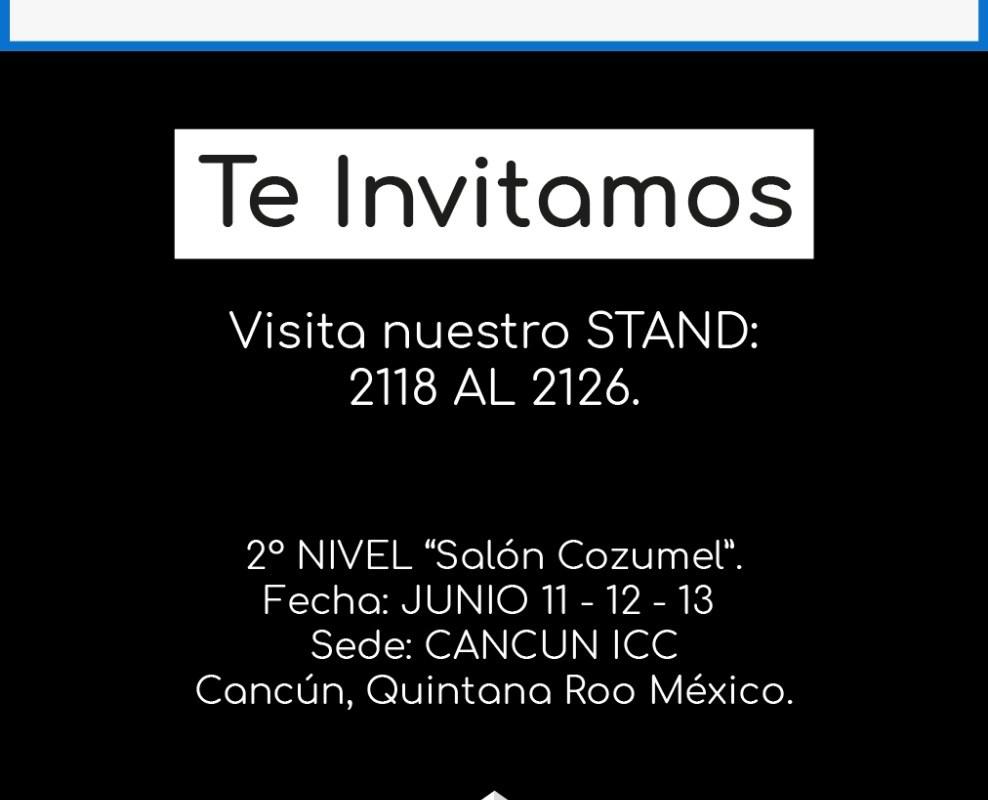 Grupo Comalca Gourmet te invita a Exphotel 2019 Junio 11-12-13 CANCUN ICC