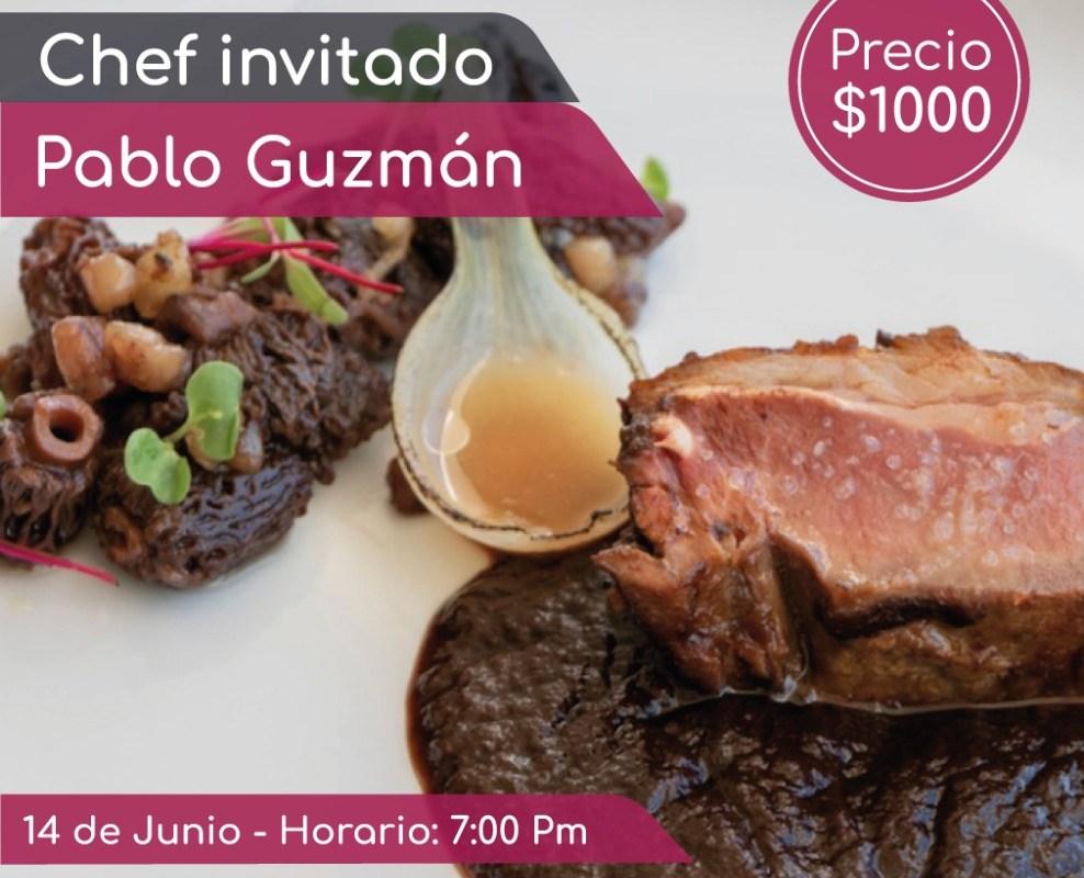 Siete Rondas Chef Invitado Pablo Guzmán #XperienciasGastronomicas 14 de Junio