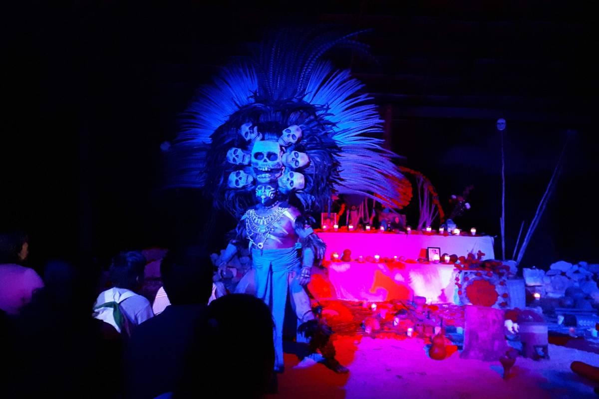 Un día de muertos único e interactivo en Cozumel
