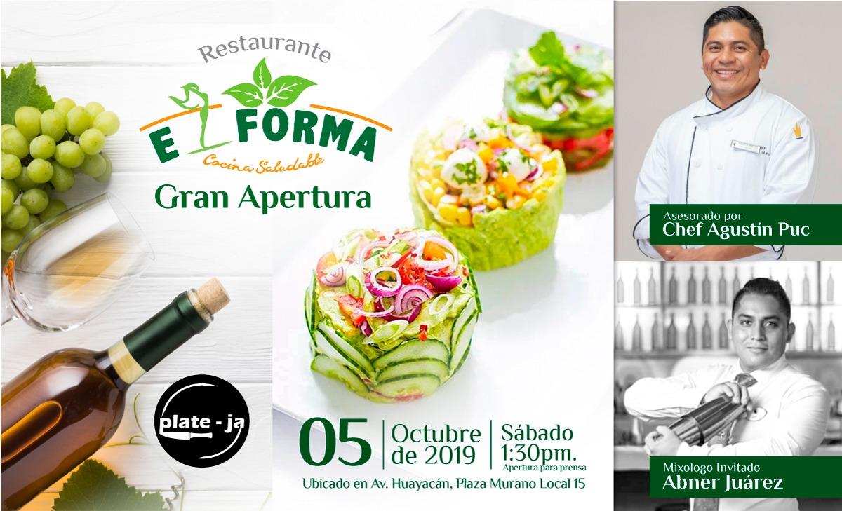 Gran apertura Restaurante E Forma