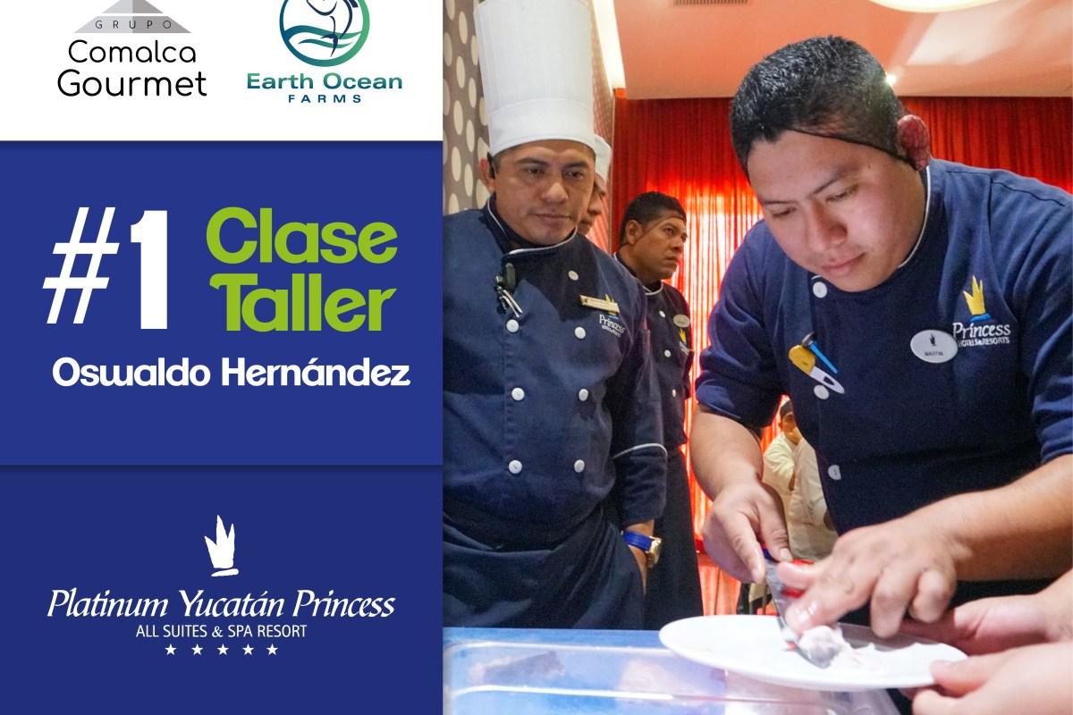 PESCA SUSTENTABLE BY GRUPO COMALCA GOURMET: HOTEL PLATINUM YUCATÁN PRINCESS