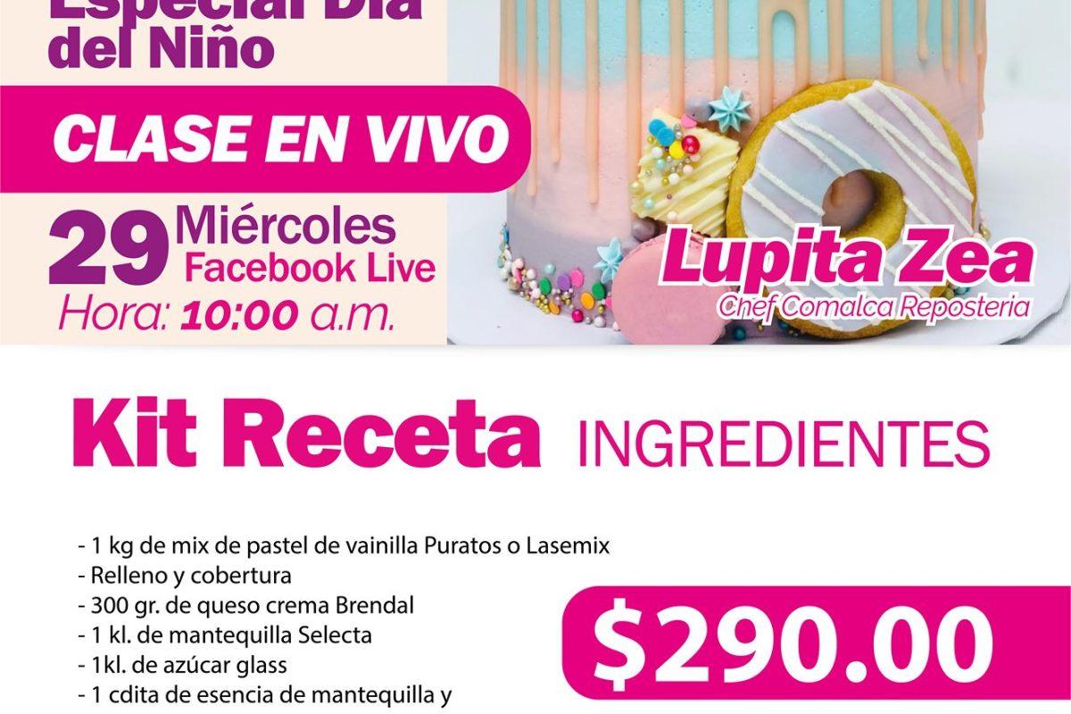 Especial Día del Niño Candy Cake by Chef Guadalupe Zea #TuRecetaEnCasa