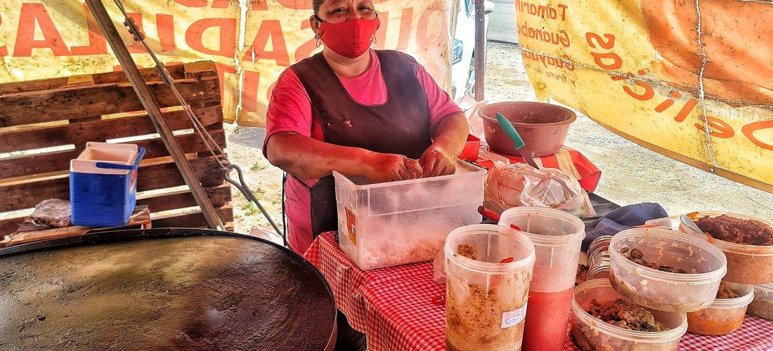 Desayuno mexicanísimo – Carnitas Las Delicias en Cancún