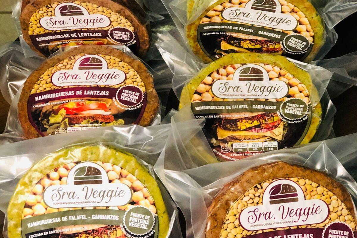 Señora Veggie: Hamburguesas Saludables y de Origen Vegetal