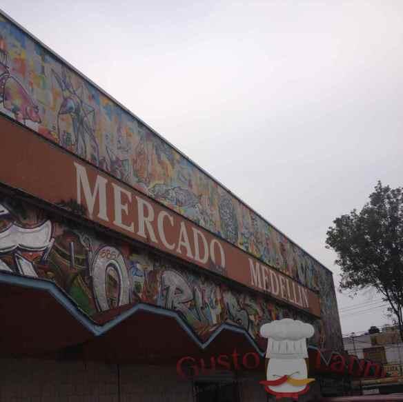 Mercado Medellín México DF