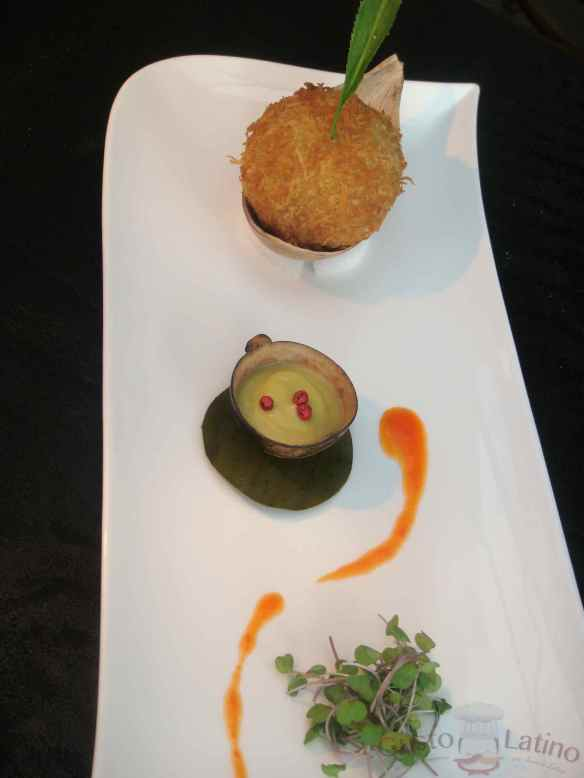 Un plato del chef Carlos Yanguas