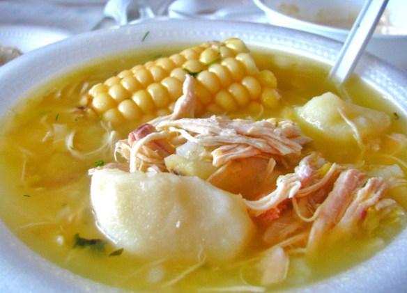 Ajiaco colombiano (Cortesía: globeholidays.net)