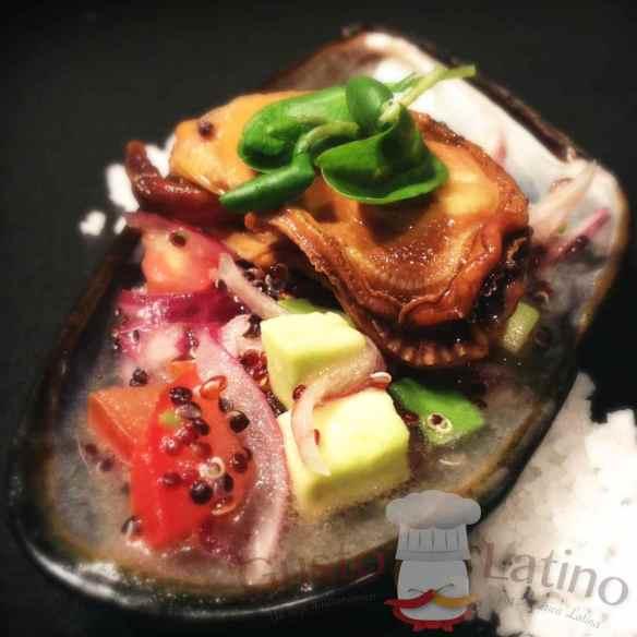 """Ceviche de mejillones (por el chef Sebastián Baeza """"Cookingnow"""")"""