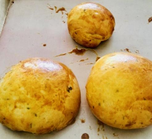 Pan de papa criolla y guascas