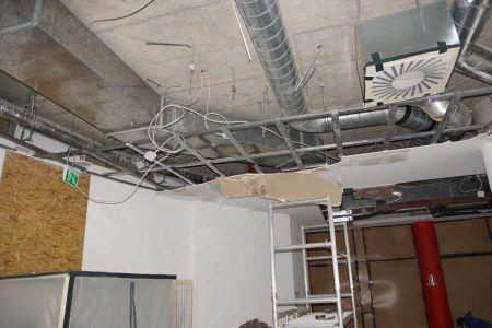 Decke Sanieren. steringer renovieren sanieren bautrocknung