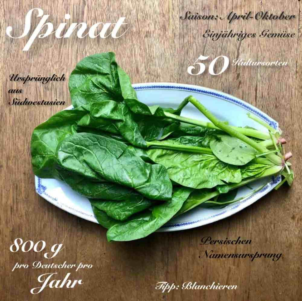 Gemüse des Monats: Spinat