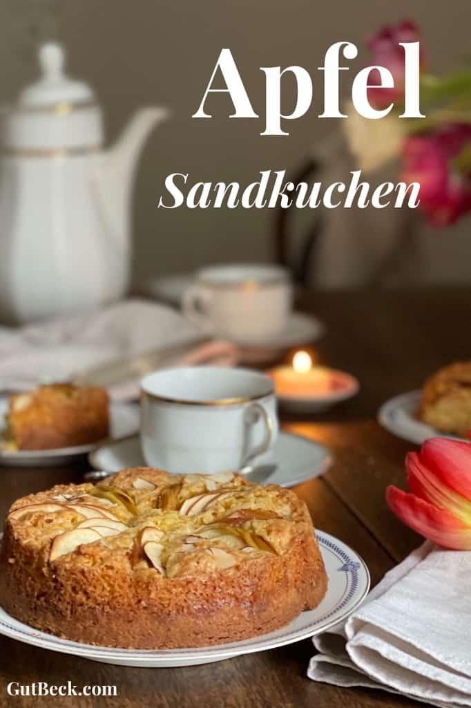 Apfel Sandkuchen