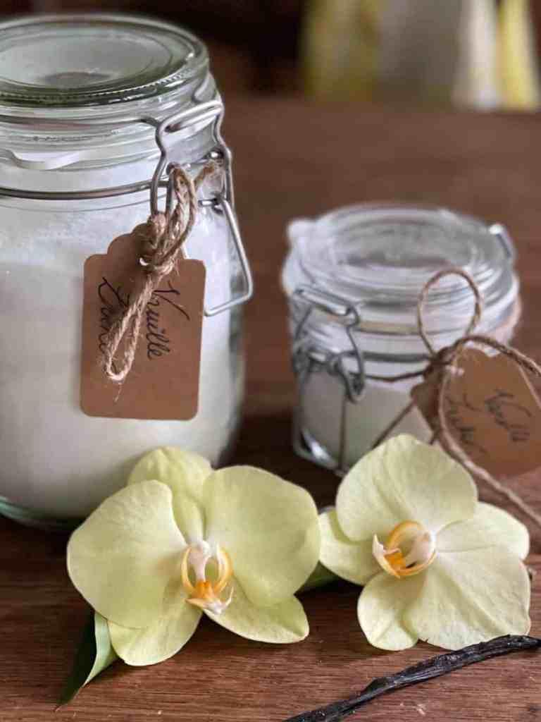 Vanillezucker selber herstellen.