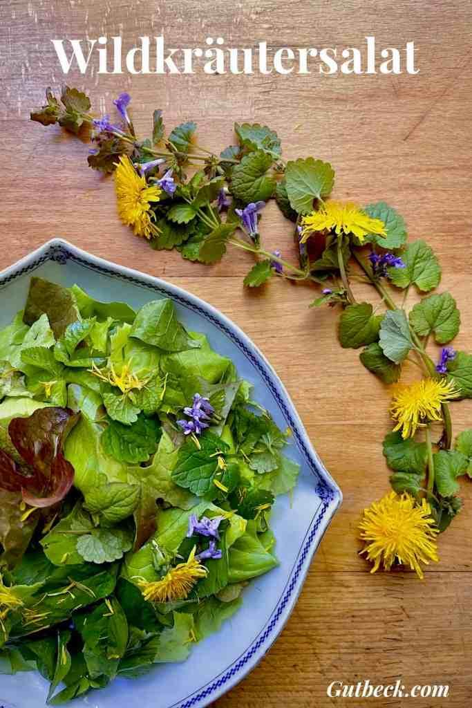 Wildkräuter für Salat