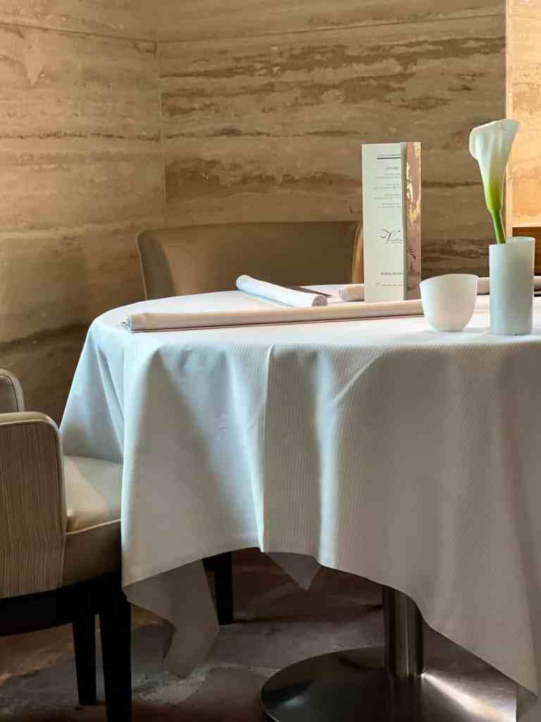Gourmet Restaurant Vendôme - modern und elegant.