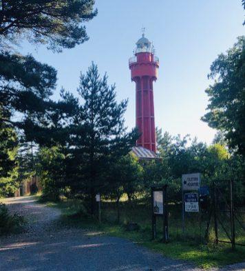 Roter Leuchtturm Ristna Tuletorn