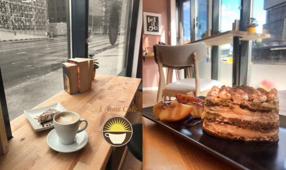 Tallinn Cafe Liyana im Rotermann Viertel