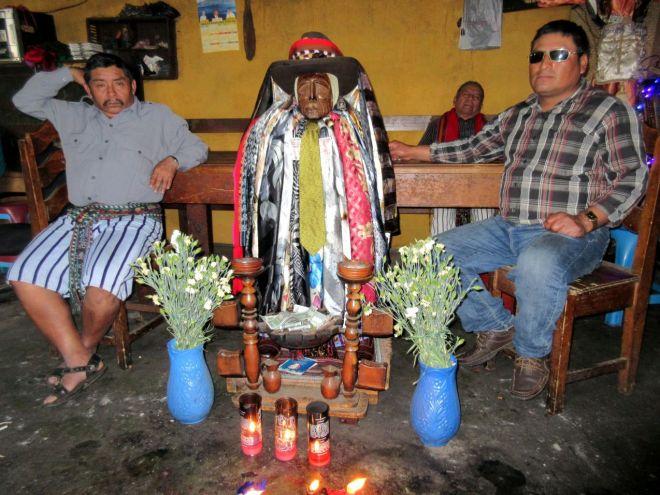 Maximón in Santiage de Atitlán