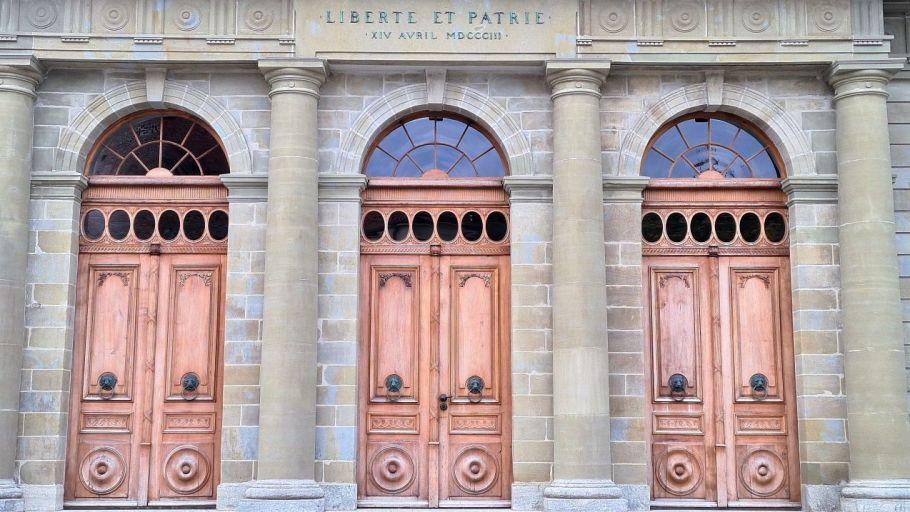 Lausanne Gebäude