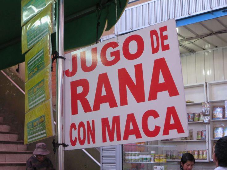 Jugo de Rana
