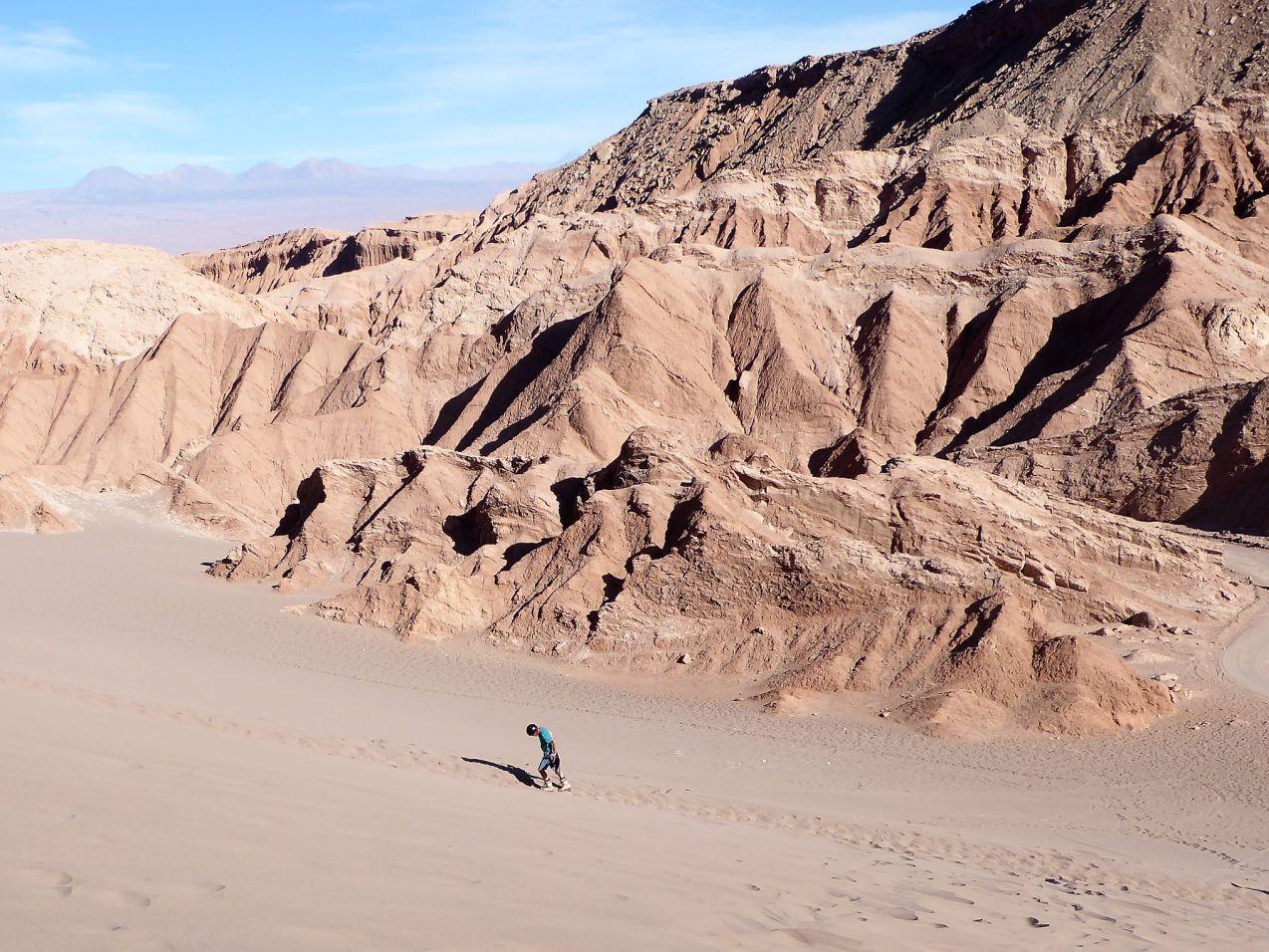 Sand Boarding San Pedro