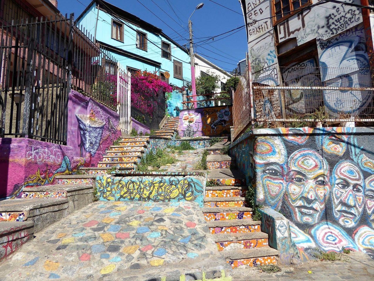 Valparaíso Treppe