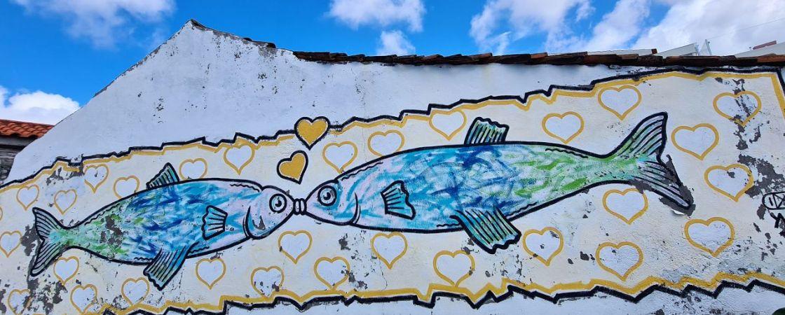 Yves - küssende Fische