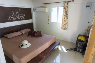 Siam Beach Resort Bungalow von innen...