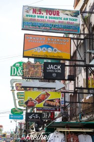 Kaoh San Road, alles im Überfluss