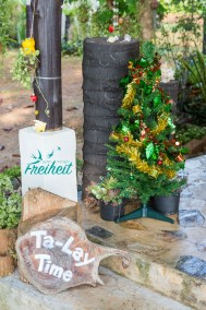 Der erste gesichtete Weihnachtsbaum