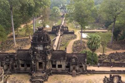 Blick vom Baphuon Tempel