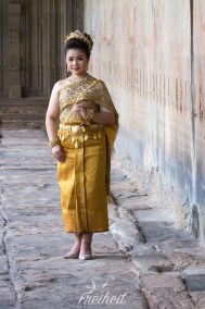 Shooting in Angkor Wat