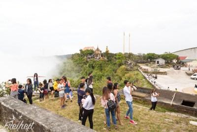 Handy-Orgie am Wat Sampeau Pram