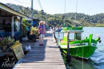 Das perfekte Boot für Nadine - es ist klein und grün :)
