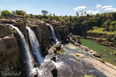 Pongour Wasserfall, eine Stufe weiter oben