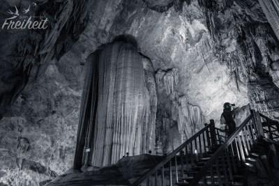 Paradise Cave - gigantische Säule