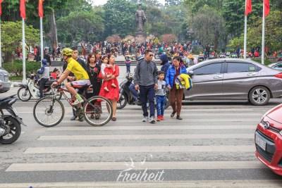 Straßen queren für Fortgeschrittene