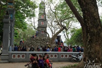 Auf dem Gelände des Jade Tempel