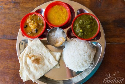 Herrlich leckeres indisches Essen