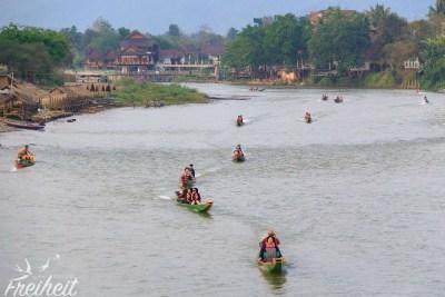 Rushhour auf dem Fluss