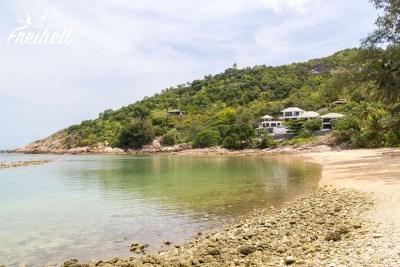 Secret Beach (es gibt zwei davon auf der Insel) - leider liegt hier viel abgestorbenes Korallenzeugs rum