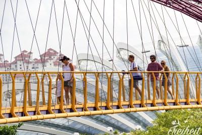 Coole Hängebrücke