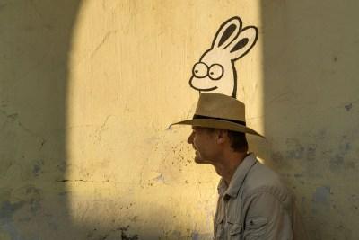 Carsten zaubert Hasen aus dem Hut ;-)