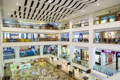 Berjaya Time Square Shopping Center - nur ein kleiner Teil