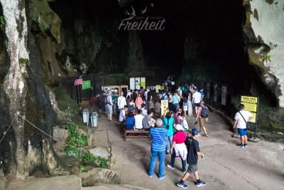 Eingang zur Dark Cave