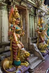 Im Sri Srinivasa Perumal Tempel