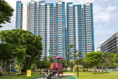 Singapur hat erstaunlich viel Grün zwischen den Hochhäuserschluchten